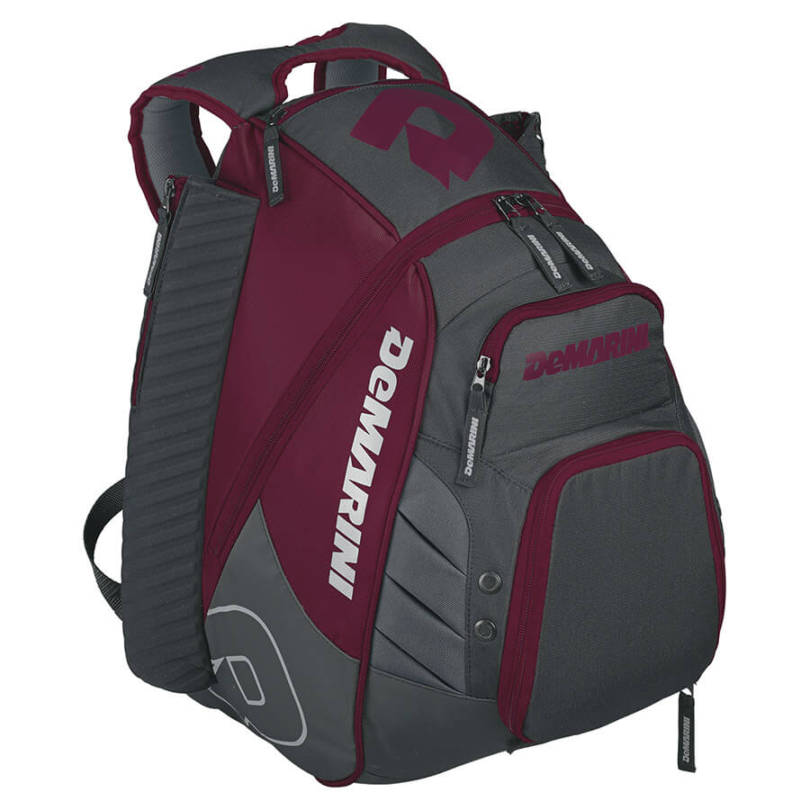 DeMarini Voodoo Rebirth Baseball Backpack, Scarlet