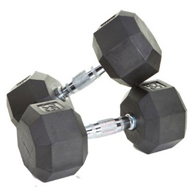 VTX by Troy Barbell Rubber Encased Octagonal Dumbbell