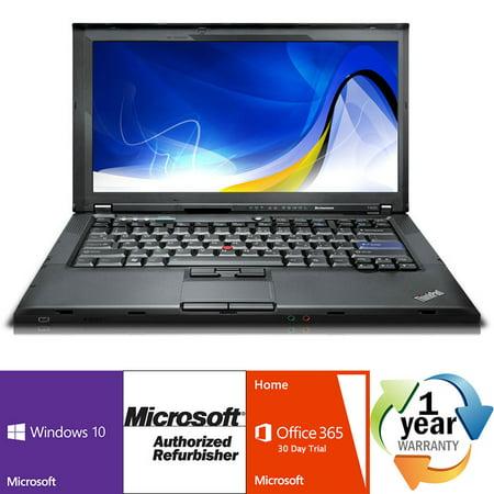 REFURBISHED Lenovo ThinkPad T410 i5 2.4GHz 8GB 320GB CMB Windows 10 Pro 64 Laptop (Lenovo T410 Network Controller Driver Windows 7)