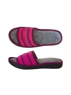 Isotoner Women's Jersey Selena Slide with 360 Comfort