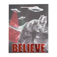 Holiday Time Gift Bag, Believe in Dinosaurs
