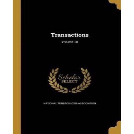 Transactions; Volume 10 - image 1 of 1
