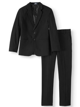 Arrow Aroflex Boys Stretch Herringbone Suit