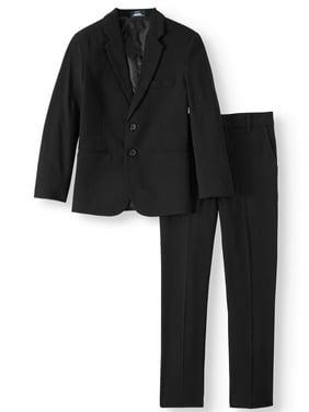Arrow Aroflex Boys' Stretch Herringbone Suit