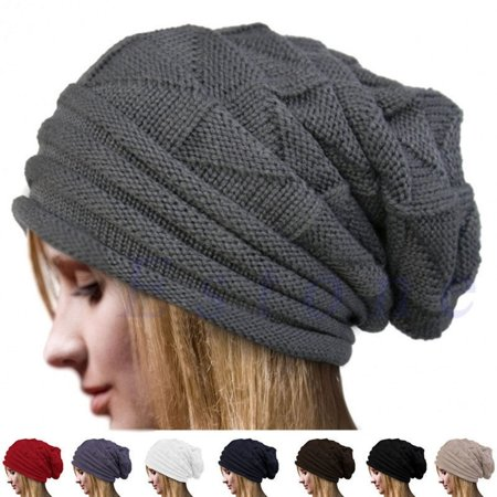 Newest Hot Women Knit Oversize Baggy Slouchy Beanie Warm Winter Hat Ski Chic Cap Skull Fresh Fashion Autumn Girl  Product details