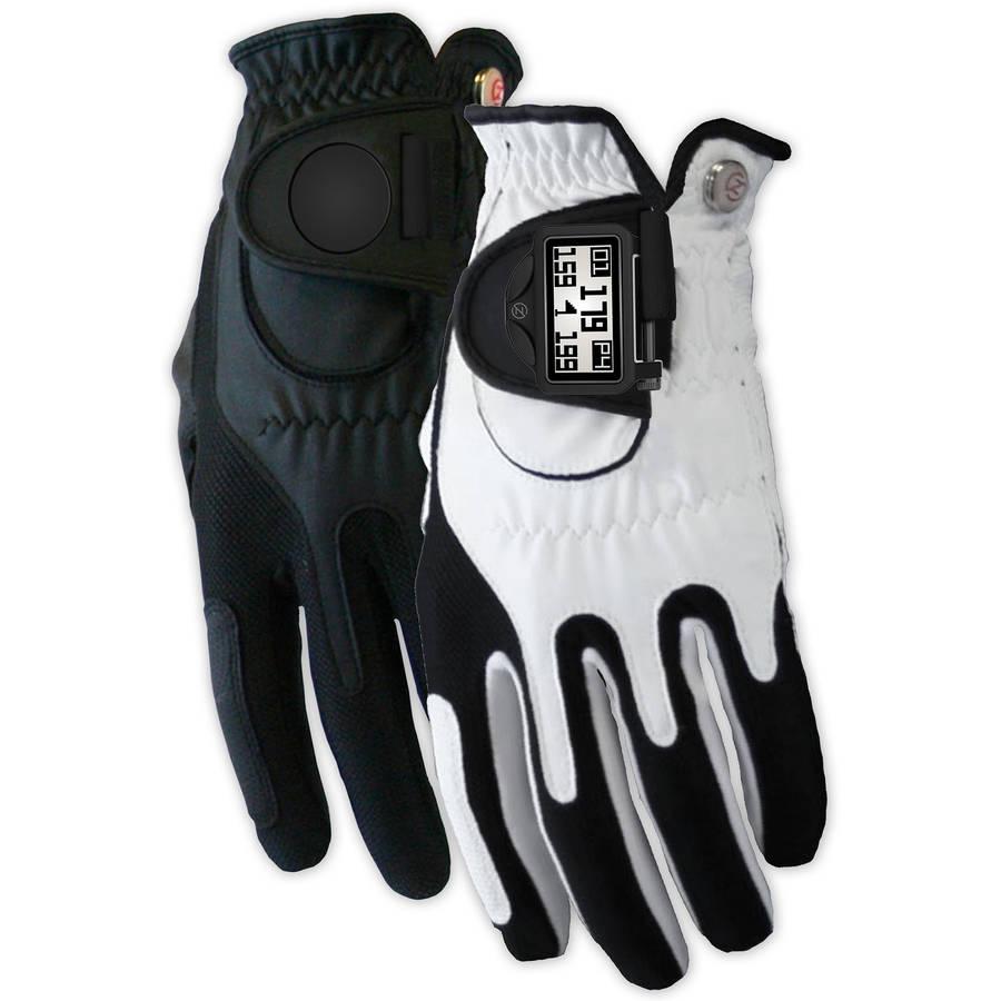 Zero Friction Mens Distance Pro GPS Golf Glove Pair, LH