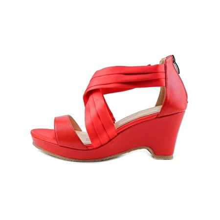 9e5f4d0bcfe0c6 Beacon - Beacon Womens Alana Criss Open Toe Casual Strappy Sandals -  Walmart.com
