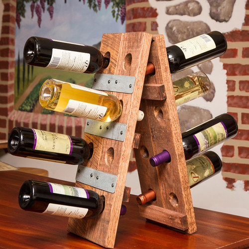 Napa East Collection 12 Bottle Riddling Wine Rack