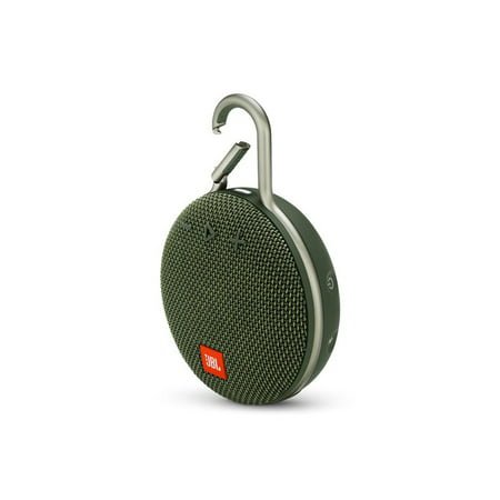 JBL (JBLCLIP3GRN) CLIP3 Portable Bluetooth Speaker with Carabiner