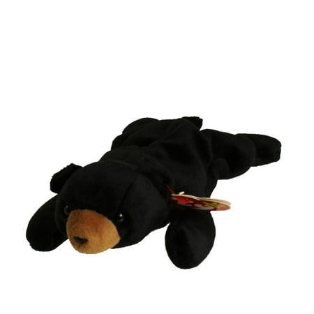 TY Beanie Baby - BLACKIE the Black Bear (8.5 (Ty Stuffed Bears)