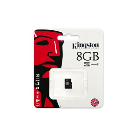 Kingston Digital 8GB microSDHC Class 4 Flash Memory Card SDC4/8GBSP