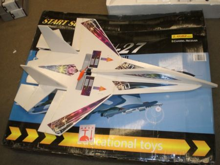 Su-27 4 Ch Radio Control Airplane Brushless Motor Stunt Plane by SUBOTECH