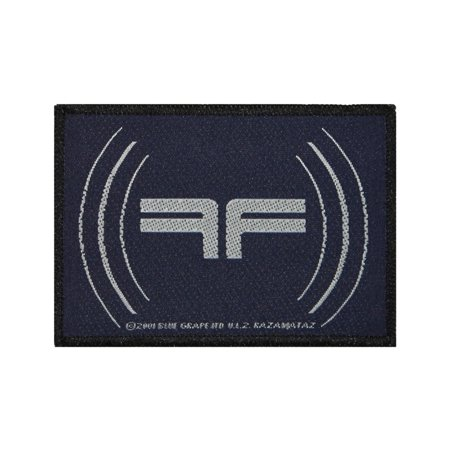 Industrial Saw - Fear Factory Reverse FF Patch Band Logo Industrial Metal Music Sew On Applique