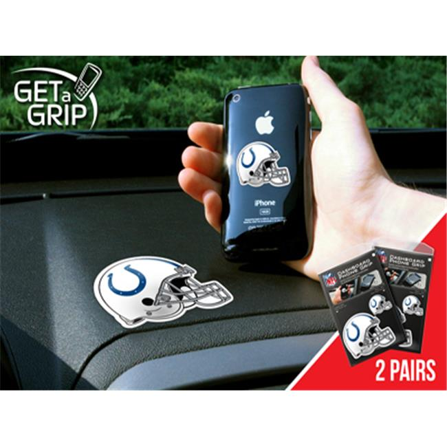 NFL - small 1.5 in.  - large 3 in.  - NFL - Indianapolis Colts Get a Grip 2 Pack