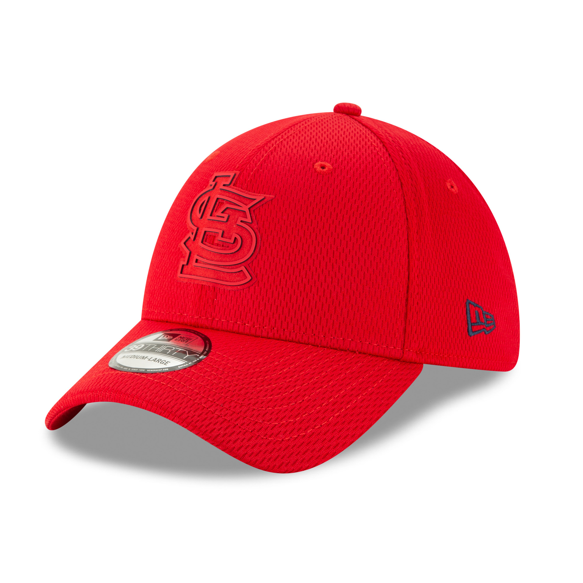 St. Louis Cardinals New Era 2019 Clubhouse Collection 39THIRTY Flex Hat - Red