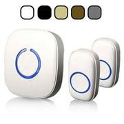 SadoTech Model CX Wireless Doorbell, White
