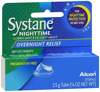 SYSTANE NIGHTTIME Lubricant Eye Ointment, 3.5-g
