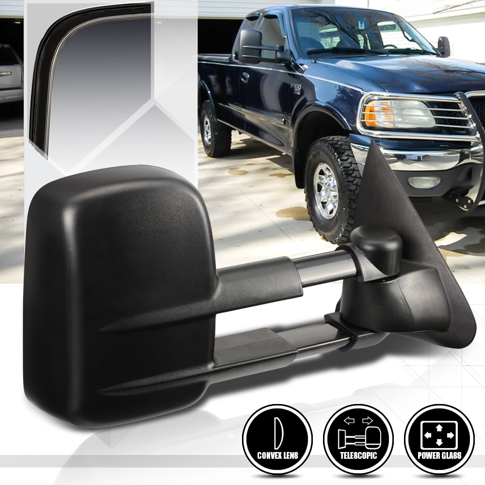 [Right]Passenger Side Power Towing Mirror For 97-04 Ford