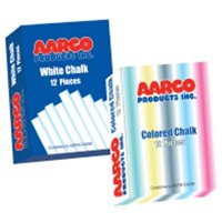 AARCO Products WCS-144 White Chalk 144 Boxes