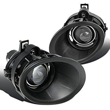 Camaro Clear Bumper - Chevy Camaro 3.6L V6 Clear Projector Bumper Driving Fog Lights Pair