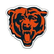 """Fremont Die NFL Chicago Bears Bear's Head Logo 12"""" Magnet"""