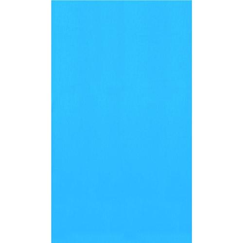 "Swimline 28' Round Overlap Pool Liner, 48""/52"" Deep, Blue"