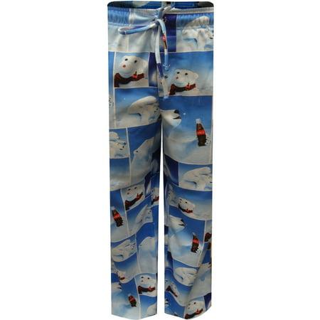 Coca Cola Polar Bears Modern Flannel Lounge -