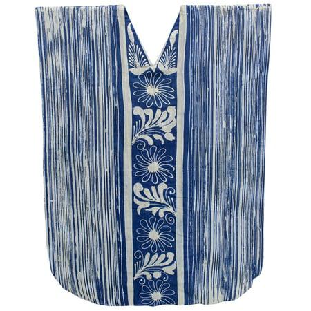 1f29dc901b LA LEELA - LA LEELA Women's Cotton plus Lounge Beach Caftan Sleep Night  Long Dress - Walmart.com