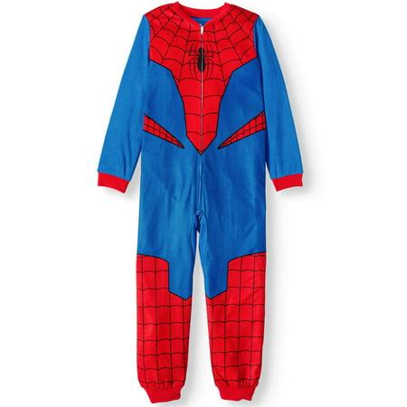 Bananas In Pyjamas Halloween (Boy's Spider-Man pajama blanket sleeper (little boy & big)