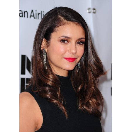 Nina Dobrev At Arrivals For Bridge Of Spies Premiere At The 53Rd New York Film Festival  Nyff  Rolled Canvas Art     8 X 10