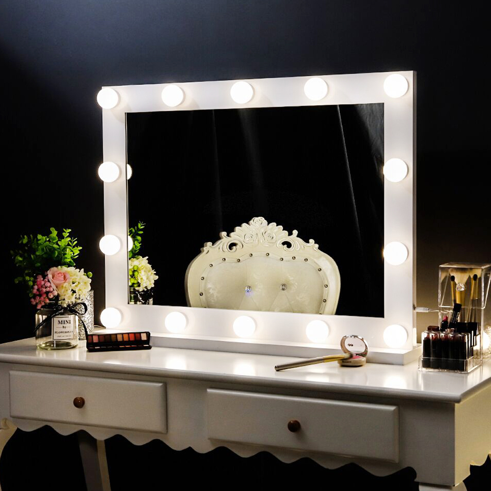 Chende Hollywood Lighted Makeup Mirror