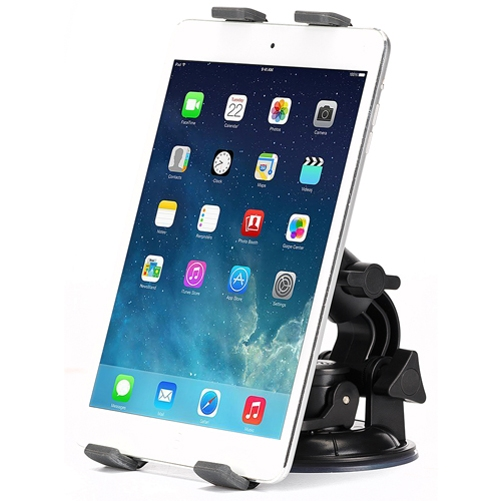 iPad Pro Car Mount Dash and Windshield Tablet Holder Swivel Cradle Stand Window Dock Strong Suction B8N