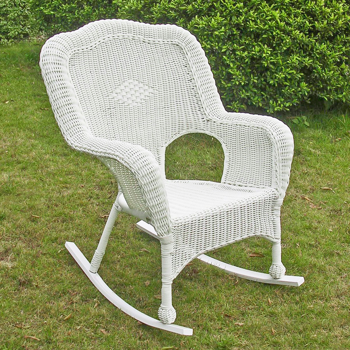 Maui Camelback Resin Wicker/ Steel Outdoor Rocking Chair (Set of 1)