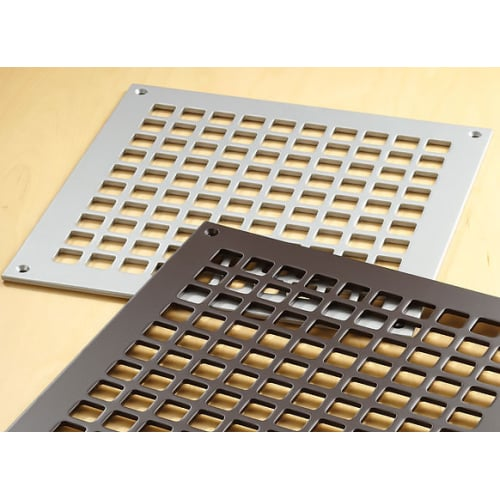 "Reggio Registers G1212-SH Grid Series 10"" x 10"" Grille with Mounting Holes"