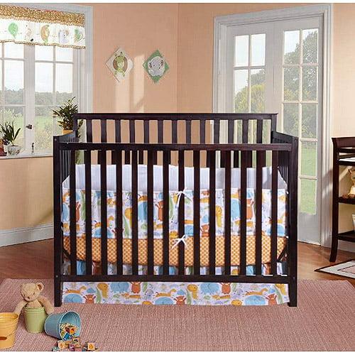 BSF Baby Sydney 2-in-1 Lifetime Fixed-Side Crib, Espresso