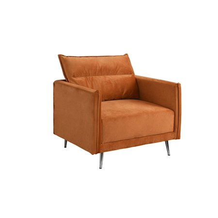 Mid-Century Upholstered 35.4