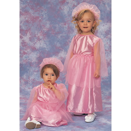 Rubies Toddler-Girls 'Pretty Princess' Halloween Costume, Pink, 4T](Virtual Halloween)
