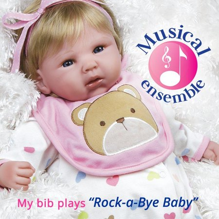 5e7f7df5754 Paradise Galleries Reborn Baby Doll That Looks Real Happy Teddy