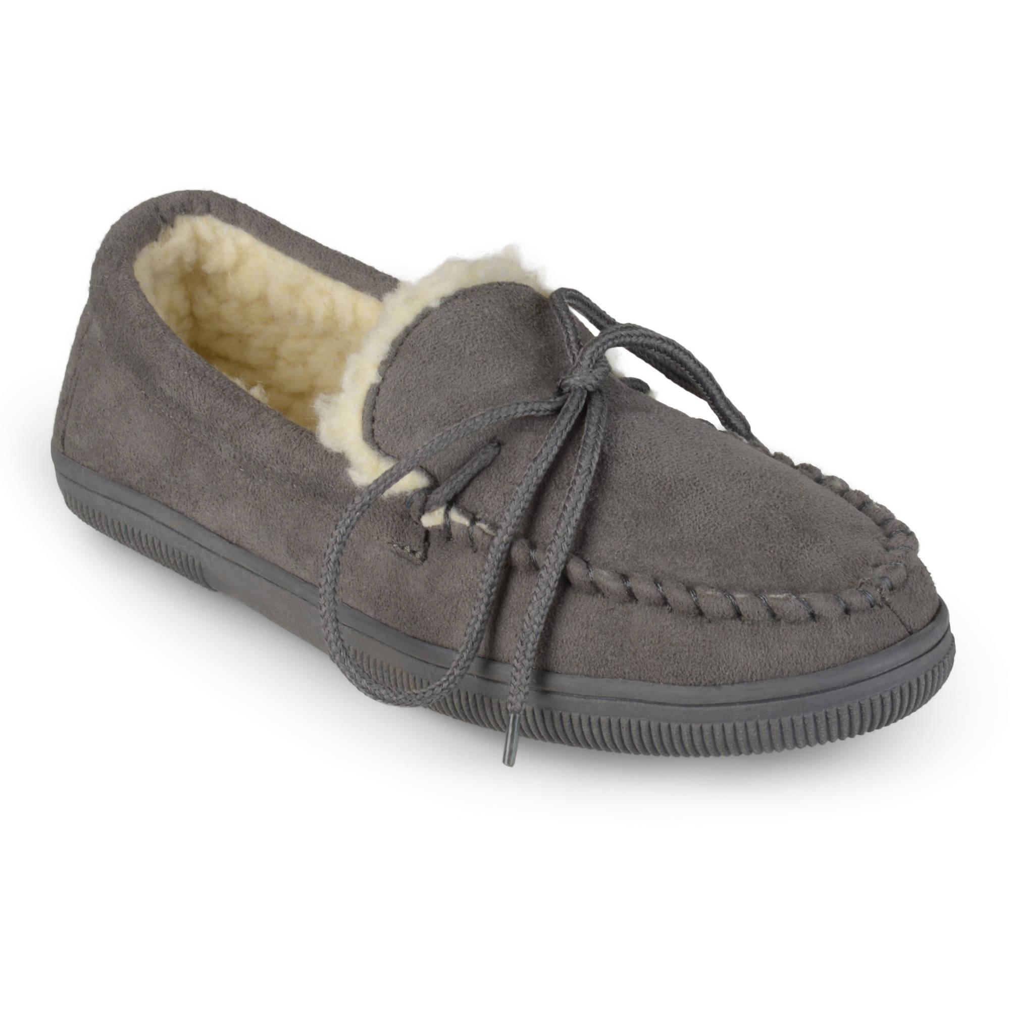 Pindari Men's Faux Suede Moccasin Slippers
