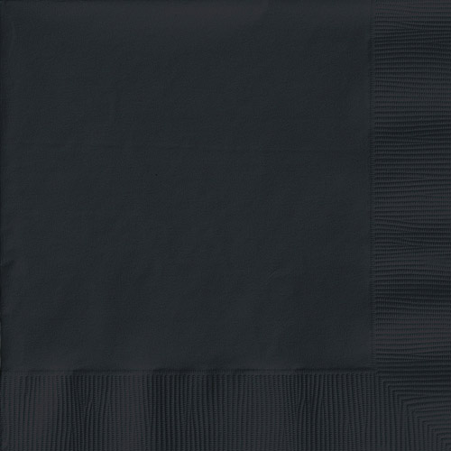 Creative Expressions Beverage Napkins 50-Pack, Black Velvet by CREATIVE CONVERTING