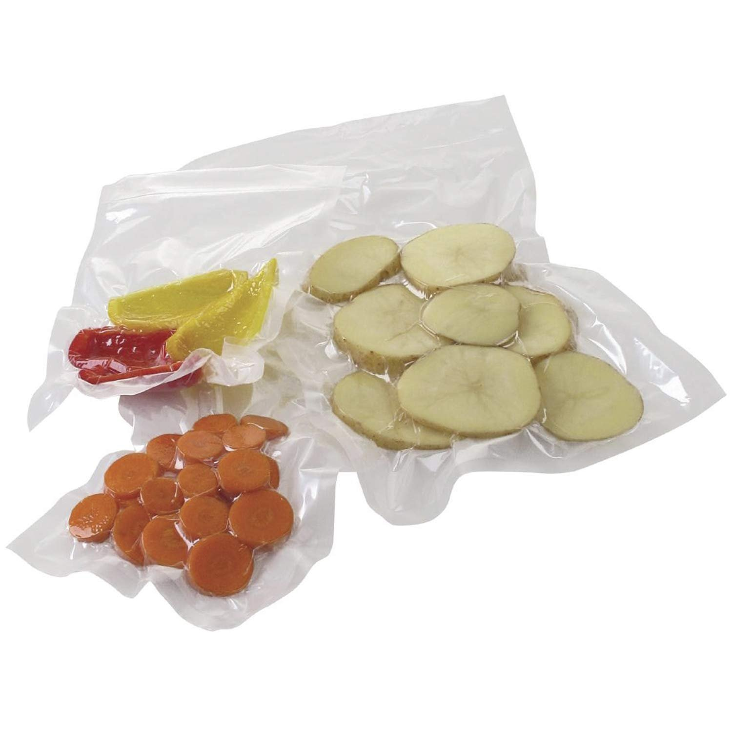 1000 Co-Extruded Clear Food Vacuum Seal Bags 10 x 12 Vacuum Pouches