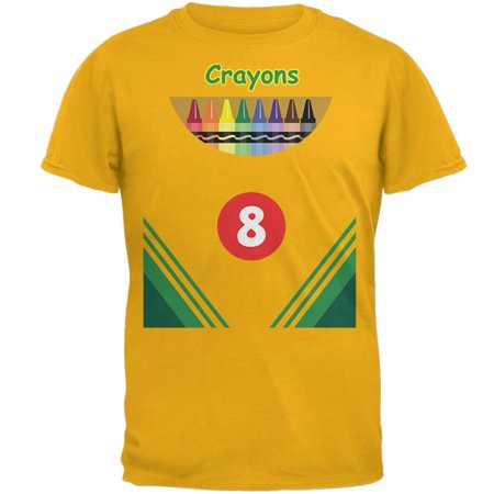 Halloween Crayon Box Costume Mens T Shirt (Five Below Halloween Shirts)