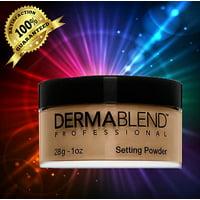 DERMABLEND Loose Setting Powder WARM SAFFRON, 1 oz. NEW IN BOX-05