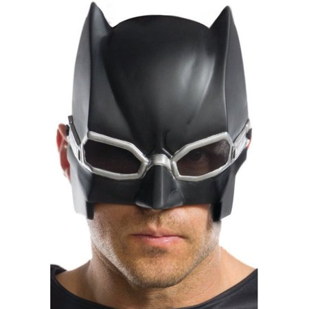 Adult's Mens Justice League Tactical Batman 1/2 Mask Costume Accessory - Batman Scarecrow Mask For Sale