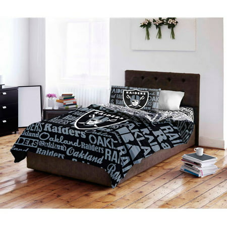 Nfl Oakland Raiders Bed In A Bag, Oakland Raiders King Bedding