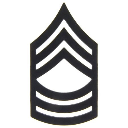 U.S. Army E8 Master Sergeant Pin Subdued 1""