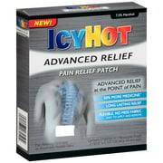 Icy Hot Advanced Relief Pain Relief Patches, 4 count