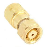 forney 87805 acetylene regulator adaptor, cga 520 to cga 510, b tank to regulator, 40-cf