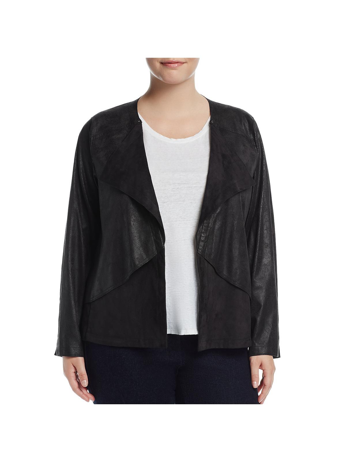 Lyss/é Womens Plus Size Drew Jacket