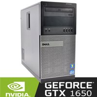 Refurbished Dell Gaming Computer Nvidia GTx 1650 i5 3.1Ghz 8Gb 500Gb Windows 10 WiFi